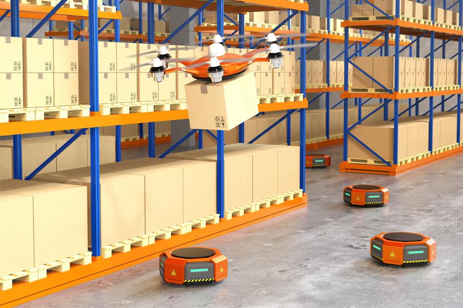 仓储机器人,智慧物流,现代化物流体系,智能仓储,快递物流